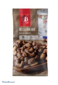 SALTED UNPEELED CASHEW NUTS - 40g