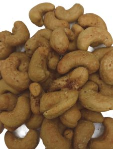 ROASTED SPICY BUTTER CASHEWNUTS